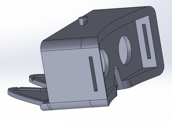 First Sketchup model back view