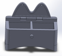 First Sketchup model top view