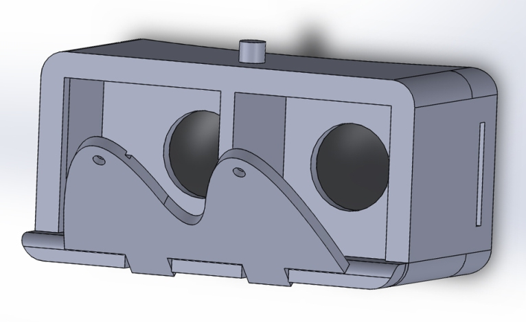 First Sketchup model front view