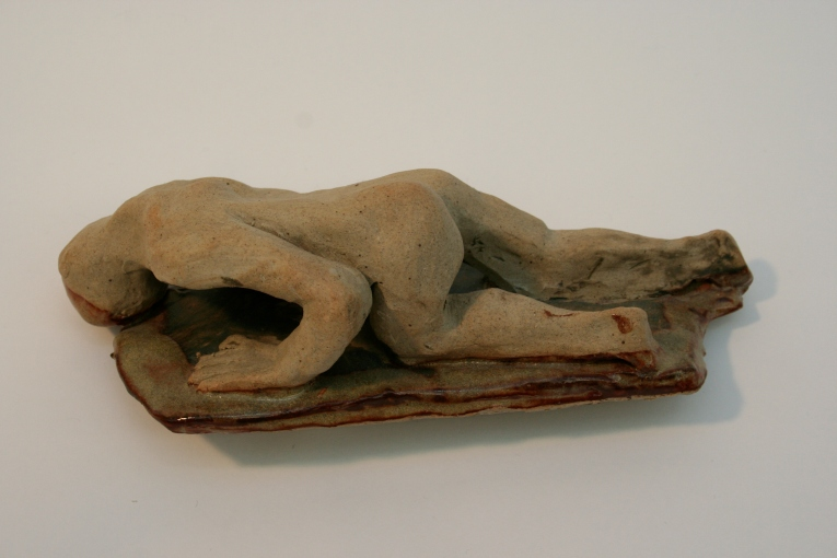 Pompeii statue, unglazed